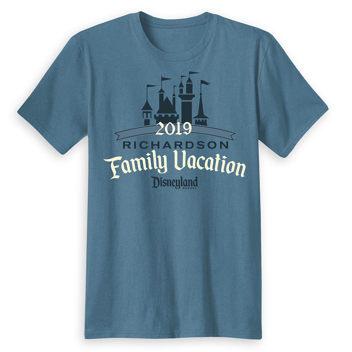 Adults Sleeping Beauty Family Vacation T Shirt