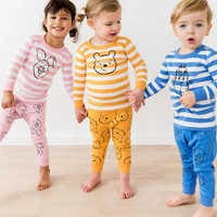 Image of Eeyore Organic Long John Pajama Set for Baby by Hanna Andersson # 2