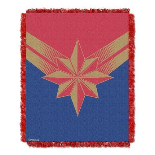 Marvel's Captain Marvel Woven Tapestry Throw