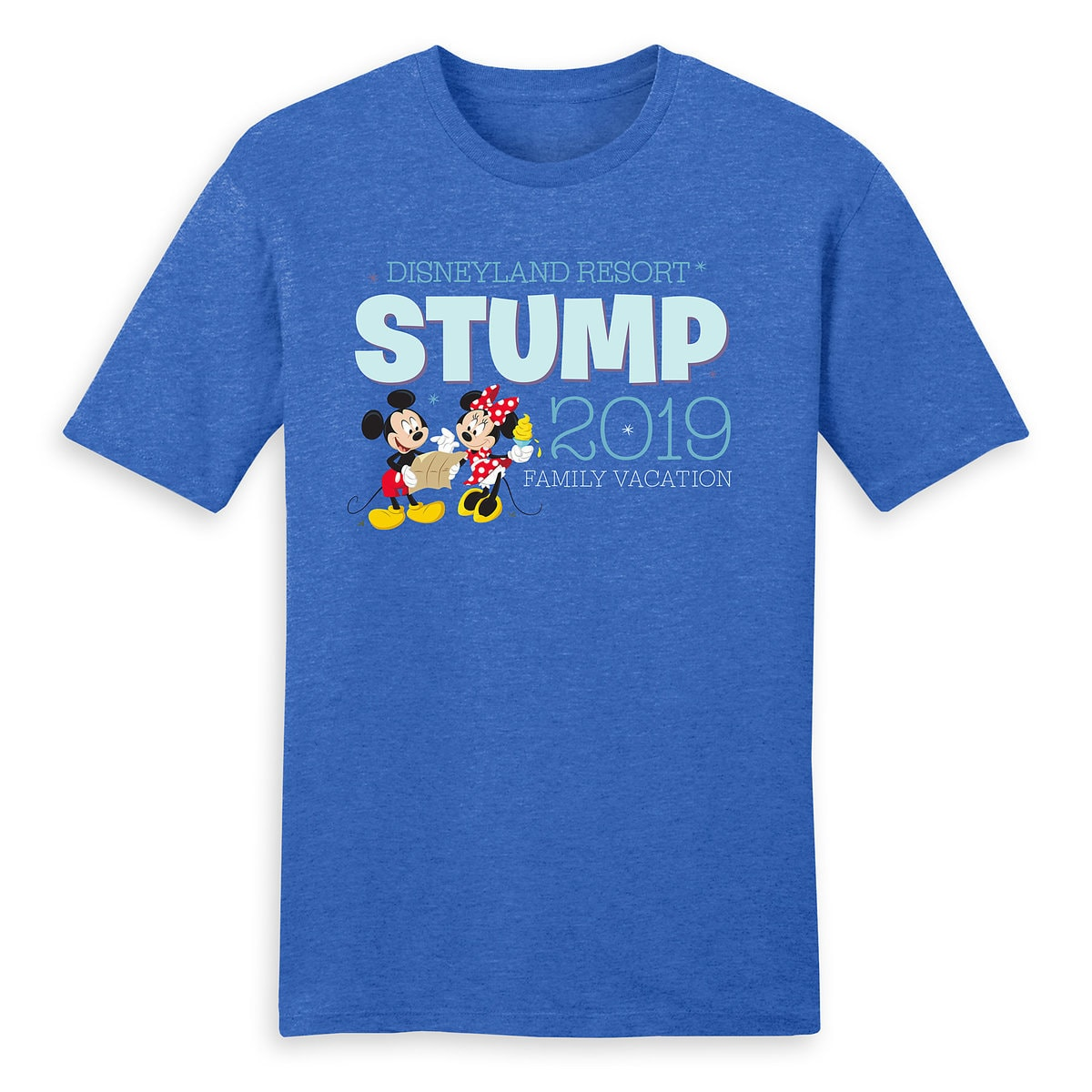 3dcf0958 Product Image of Mickey and Minnie Mouse Family Vacation T-Shirt for Men -  Disneyland
