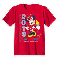 Image of Minnie Mouse Family Vacation T-Shirt for Kids - Walt Disney World 2019 - Customized # 2