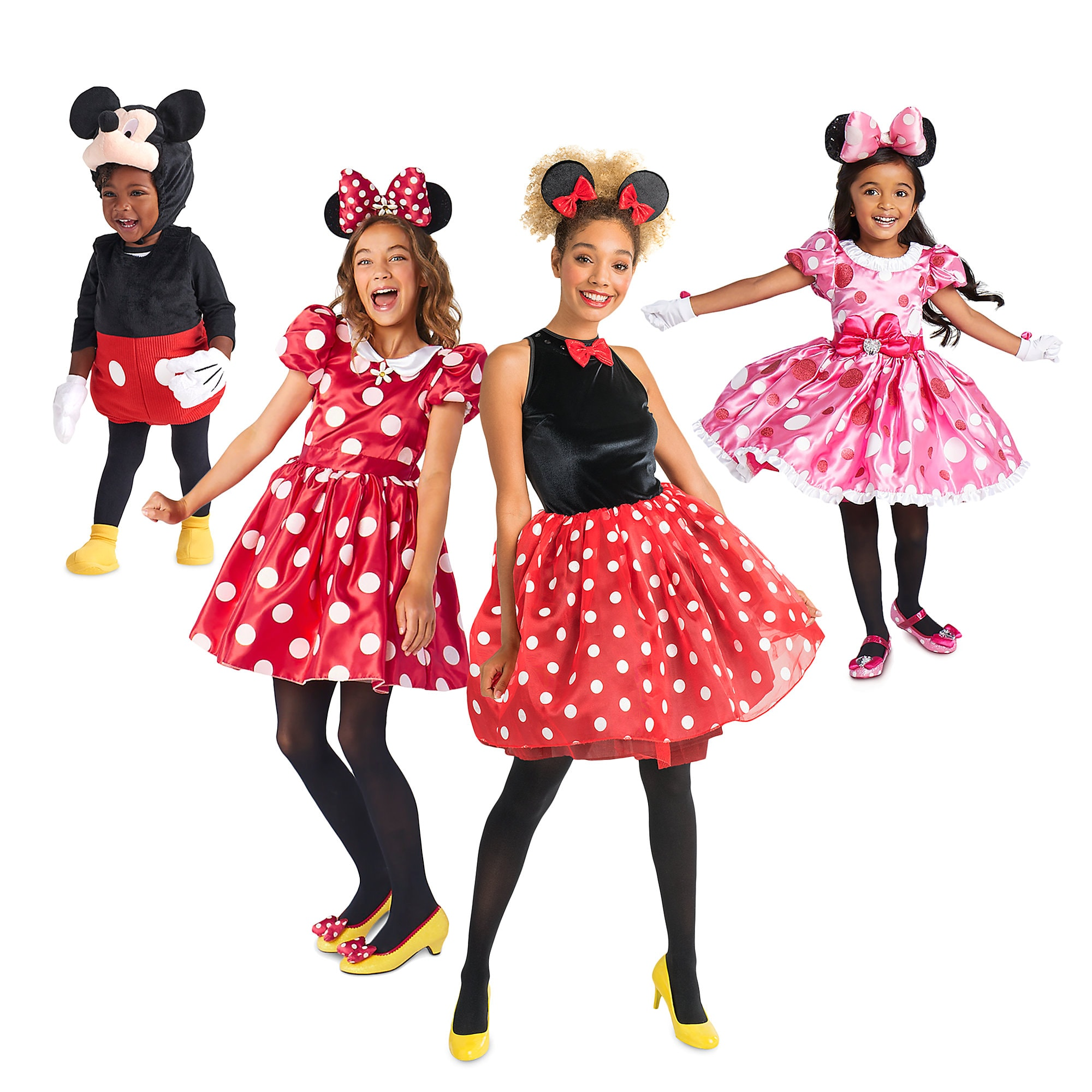 Mickey and Minnie Mouse Costume Collection for Family