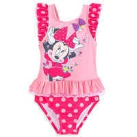 Image of Minnie Mouse Deluxe Swimsuit for Girls # 1