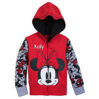 Image of Minnie Mouse Hoodie for Girls - Personalizable # 1