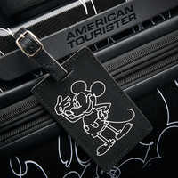 Image of Mickey Mouse Line Art Rolling Luggage by American Tourister - Large # 3