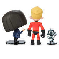 Image of Dash, Edna, and Jack-Jack Action Figure Set - PIXAR Toybox # 3