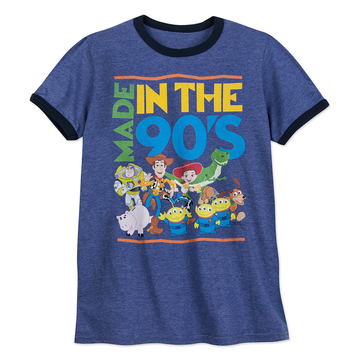 detailed look 93b4a cd4f8 Product Image of Toy Story Ringer T-Shirt for Adults   1