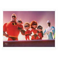Image of Incredibles 2 Blu-ray Combo Pack - with FREE Lithograph Set Offer - Pre-Order # 2