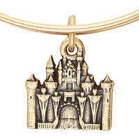 Image of Sleeping Beauty Castle Figural Bangle by Alex and Ani # 4