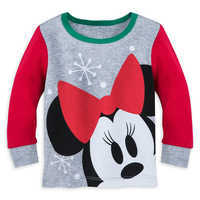 Image of Minnie Mouse Holiday PJ PALS for Baby # 2