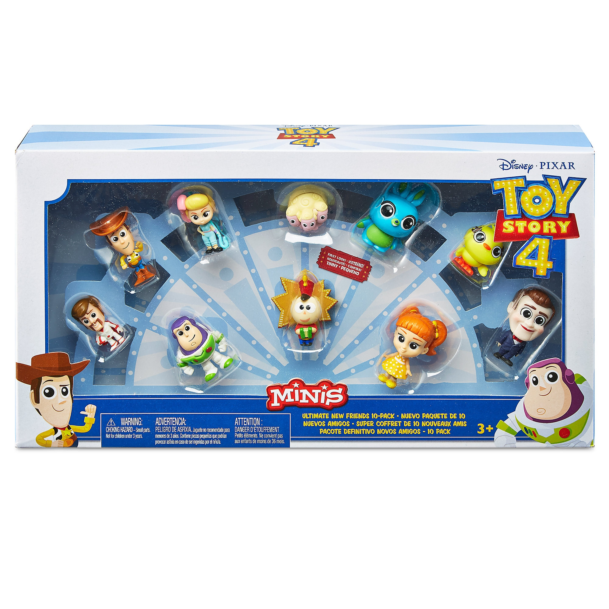 Toy Story 4 Minis Ultimate New Friends Figure Set released today
