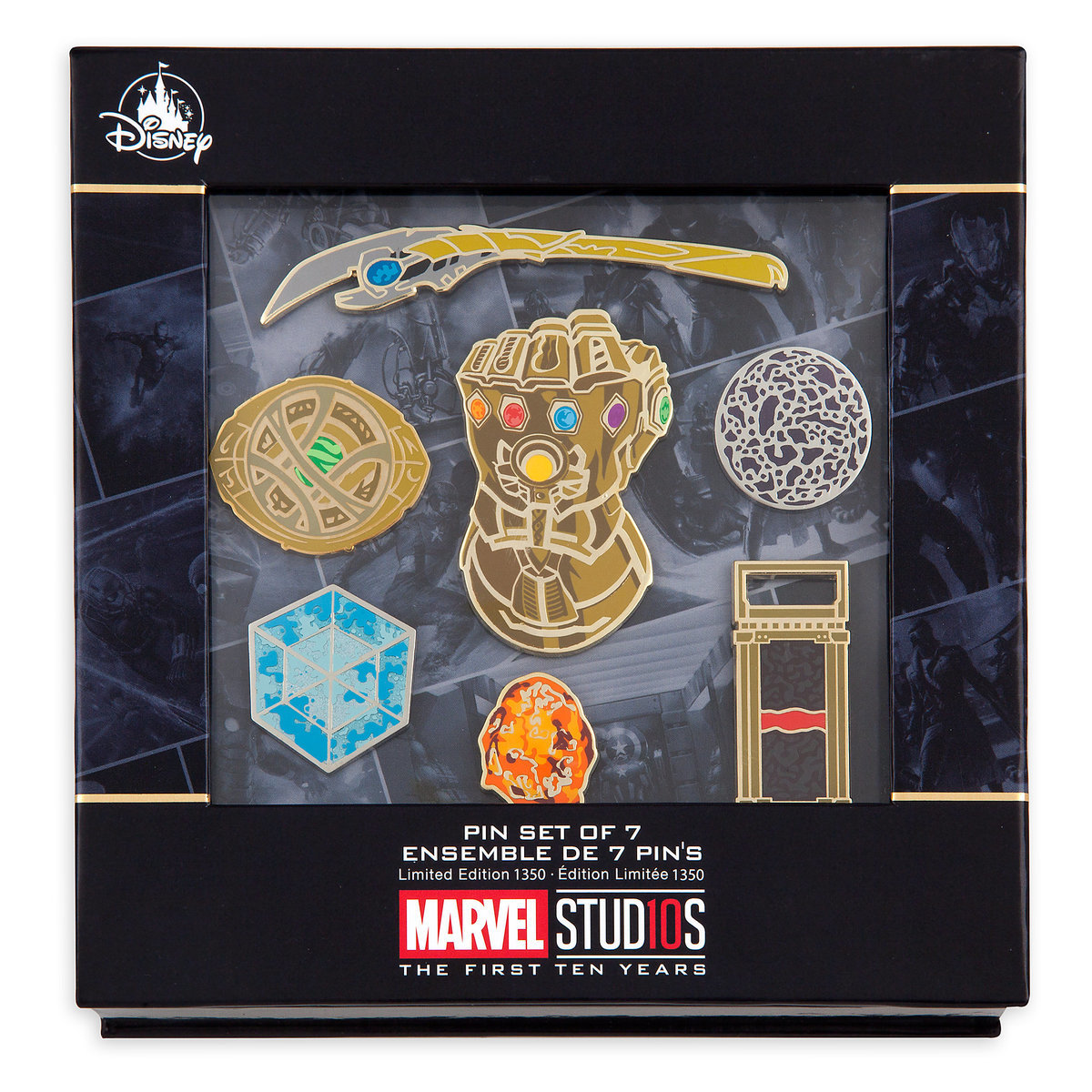 7 Pin Trailer Plug Wiring Diagram For Chevrolet, Product Image Of Marvel Studios 10th Anniversary Limited Edition Pin Set 9, 7 Pin Trailer Plug Wiring Diagram For Chevrolet