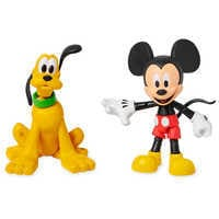 Image of Mickey Mouse and Pluto Action Figure Set - Disney Toybox # 1