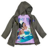 Image of Tiana Woven Hooded Jacket for Girls # 4