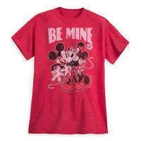 Image of Mickey and Minnie Mouse ''Be Mine'' T-Shirt for Men # 1