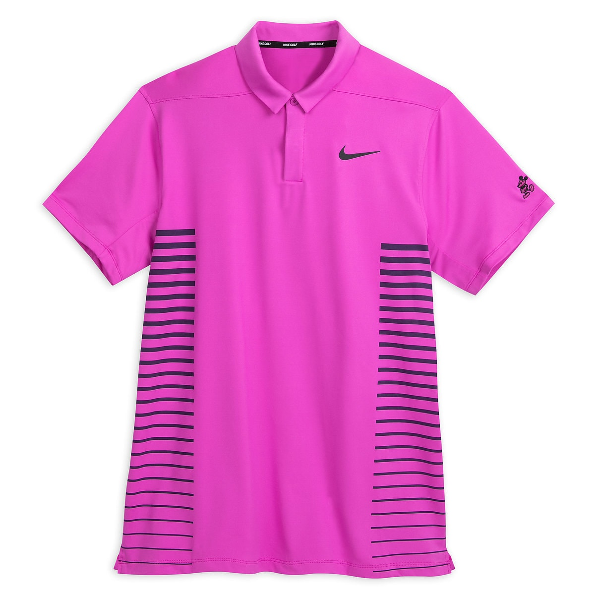 87f6f21fd Product Image of Mickey Mouse Performance Polo Shirt for Men by Nike Golf -  Magenta Stripe