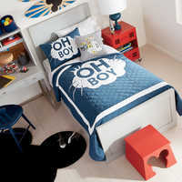 Image of Mickey Mouse ''Oh Boy'' Bedding Collection by Ethan Allen # 1
