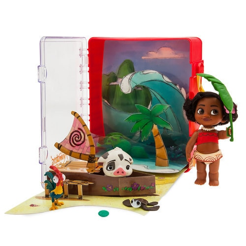 Disney Animators' Collection Moana Mini Doll Playset