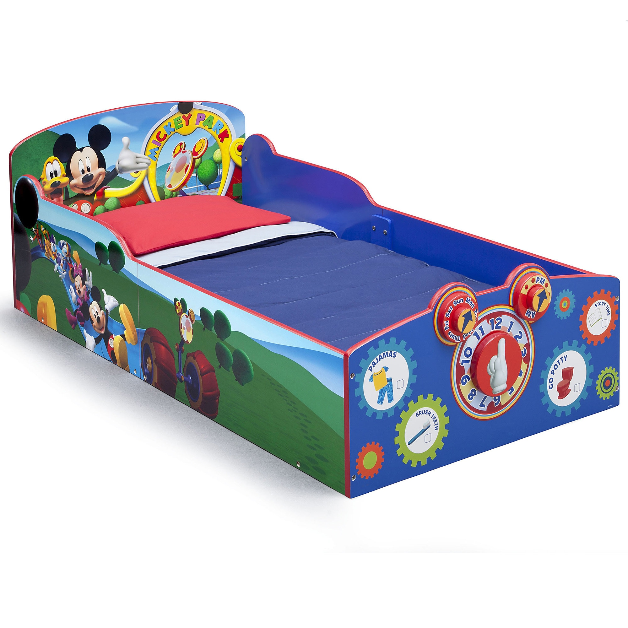 Ordinaire Product Image Of Mickey Mouse Interactive Wooden Toddler Bed # 1