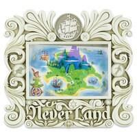 Never Land Resin Photo Frame - Peter Pan - 4'' x 6''