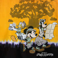 Image of Mickey Mouse and Friends Tie-Dye T-Shirt for Kids - Disney's Animal Kingdom # 3