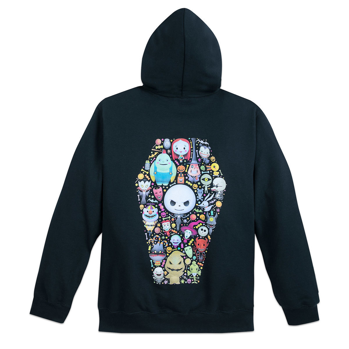 The Nightmare Before Christmas Zip Hoodie for Adults by by Jerrod ...