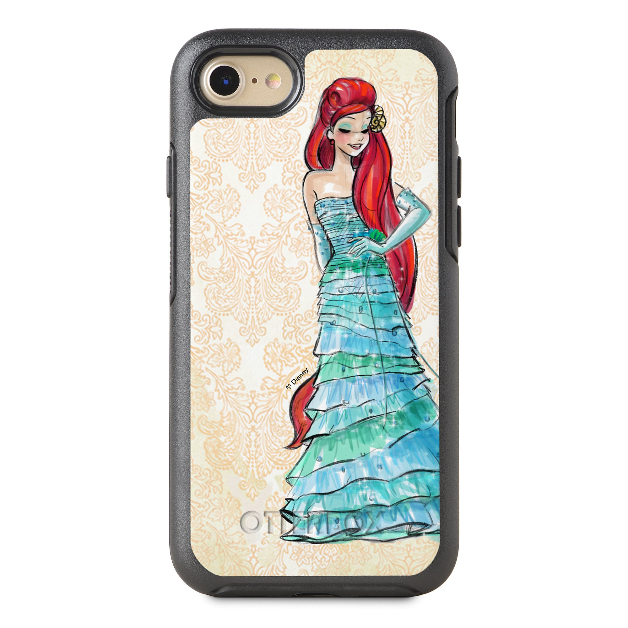 Ariel iPhone 8/7 Case - Art of Princess Designer Collection