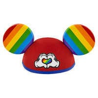 Image of Rainbow Disney Collection Mickey Mouse Ear Hat # 1