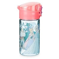 Frozen Flip-Top Water Bottle