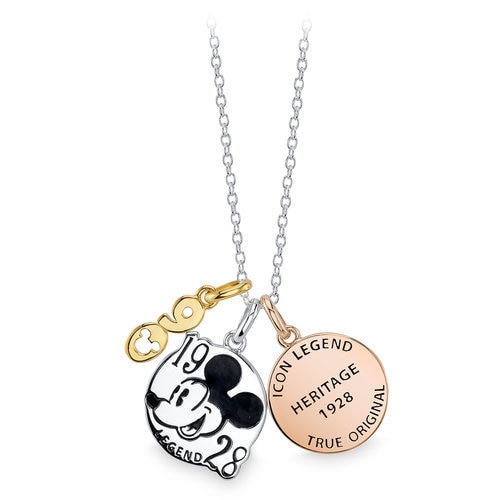 Mickey Mouse 90th Anniversary Pendant Necklace