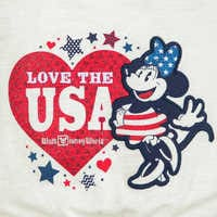 Image of Minnie Mouse Americana Dress for Girls - Walt Disney World # 4