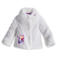 Elsa and Anna Faux Fur Jacket For Girls