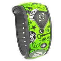 Image of The Haunted Mansion Collage MagicBand 2 - Limited Release # 3
