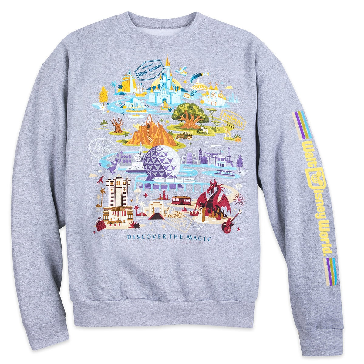 15adde4d42cf97 Product Image of Walt Disney World Pullover Sweatshirt for Adults # 1