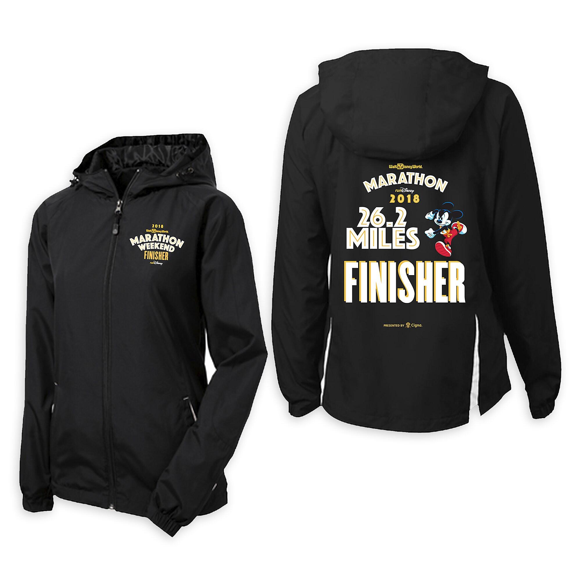 Mickey Mouse runDisney Walt Disney World Marathon Finisher Jacket for Women - Limited Release
