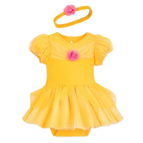 Belle Costume Bodysuit for Baby