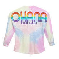 Image of Stitch Tie-Dye Rainbow Spirit Jersey for Adults # 4
