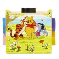 Image of Winnie the Pooh and Pals Wooden Shape Sorting Cube by Melissa & Doug # 3