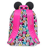 Image of Minnie Mouse Rainbow Backpack - Personalizable # 3