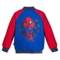 Image of Spider-Man Varsity Jacket for Boys - Personalizable # 2