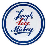 Image of Mickey Mouse Americana Dessert Plate # 1