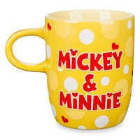 Image of Mickey and Minnie Mouse Ceramic Mug # 2