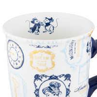 Image of Cinderella Text Pattern Mug # 3