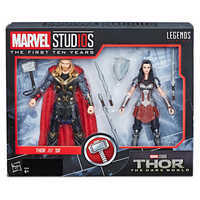 Image of Thor and Sif Action Figure Set - Legends Series - Marvel Studios 10th Anniversary # 7