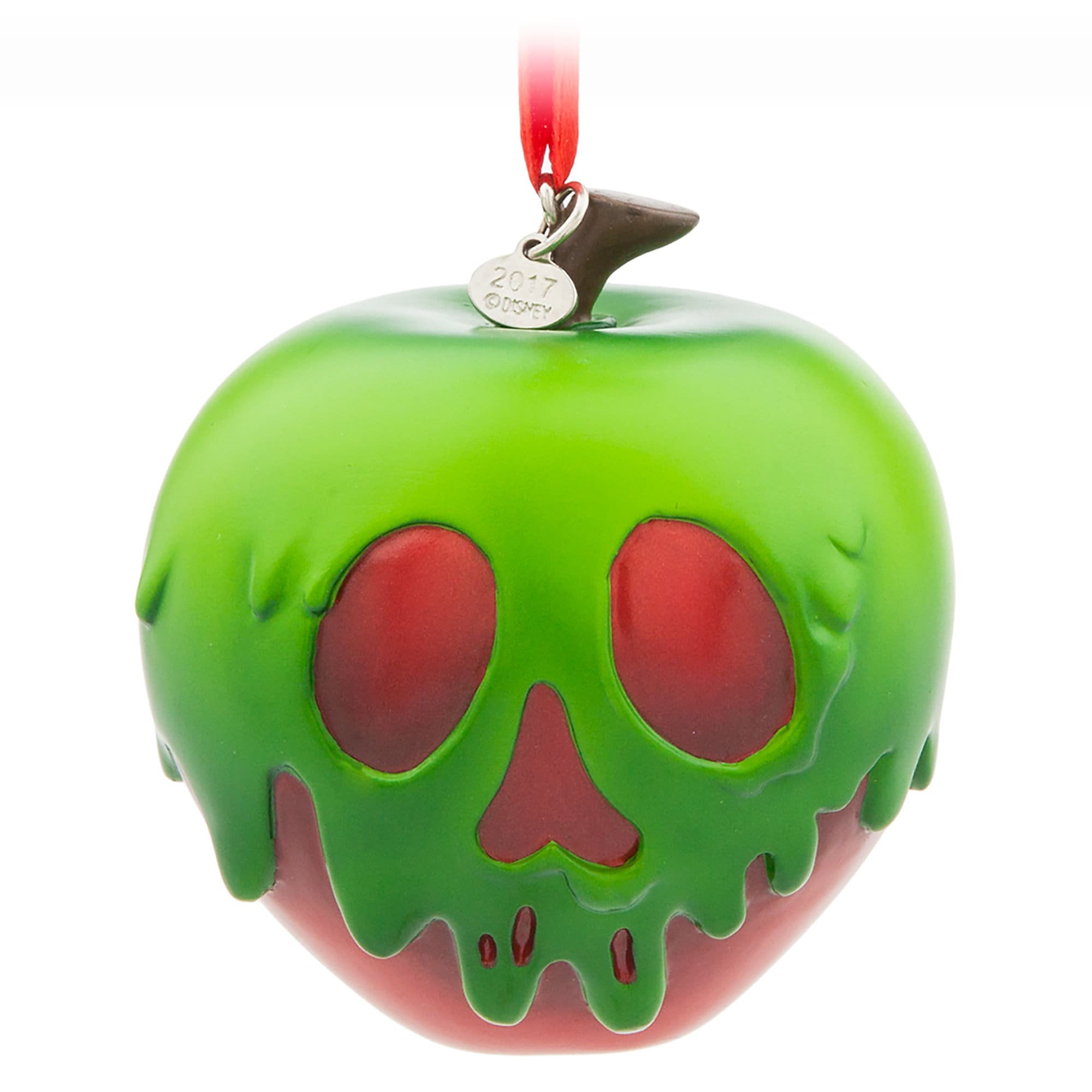 Poisoned Apple Sketchbook Ornament - Snow White and the Seven Dwarfs