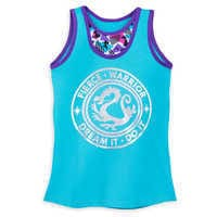 Image of Disney Princess Reversible Performance Tank Top for Girls by Our Universe # 1