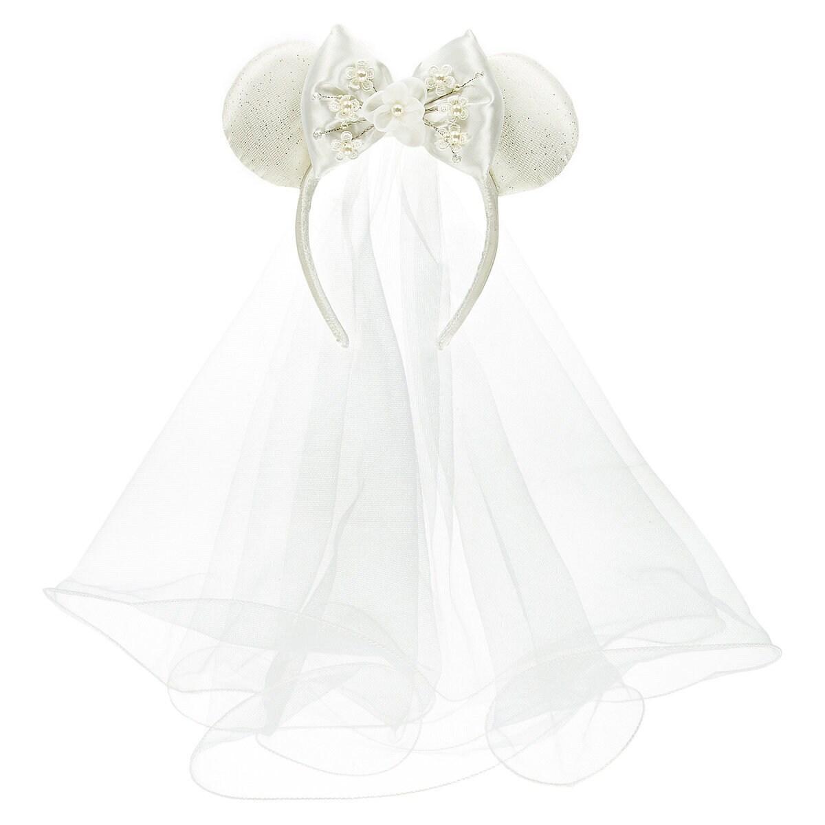 Minnie Mouse Bride Ear Headband   shopDisney