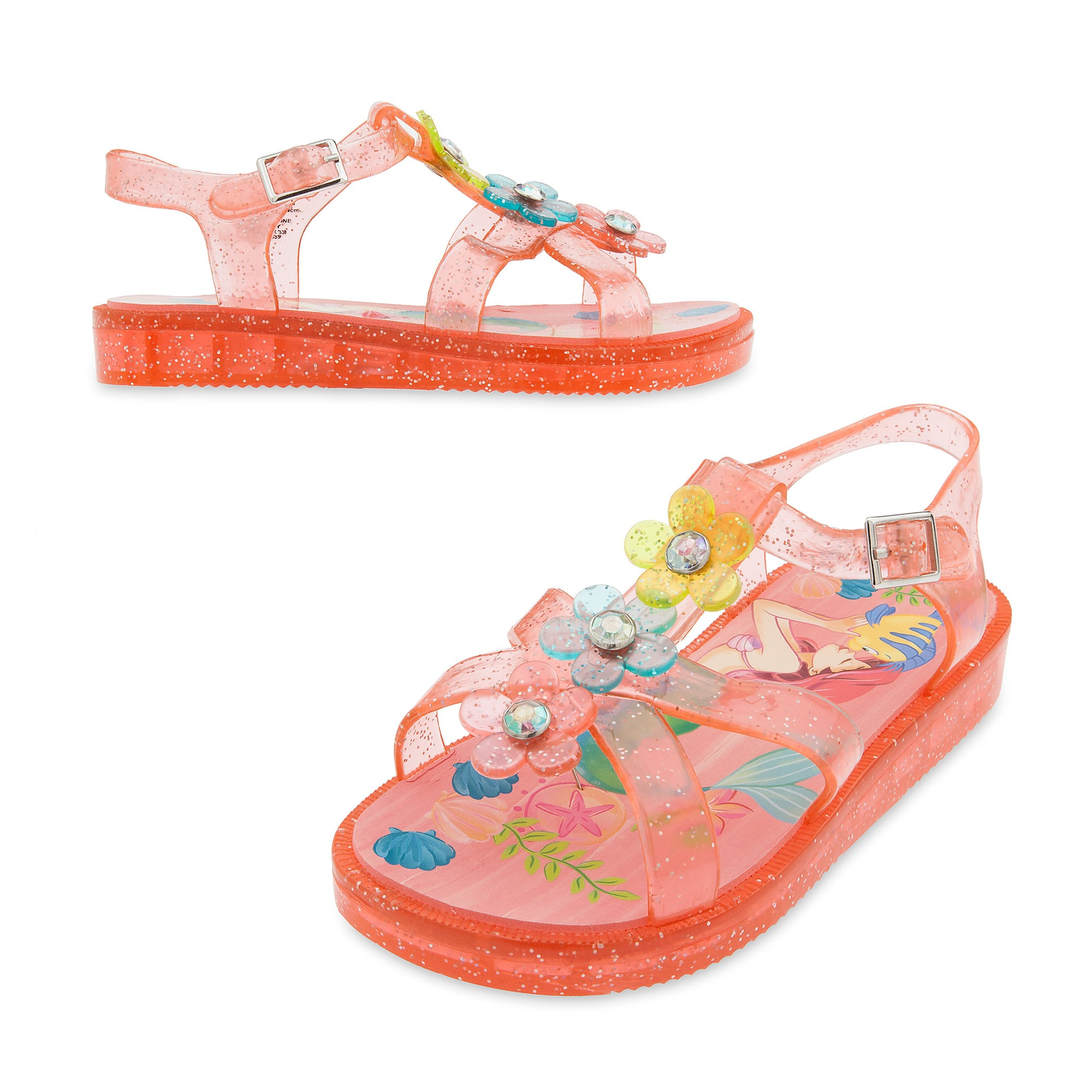 Ariel Jelly Sandals for Kids