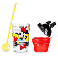 Image of Minnie Mouse Tumbler with Snack Cup and Straw - Disney Eats # 3