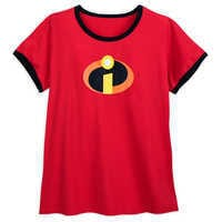 Image of Incredibles Logo Ringer T-Shirt for Women - Extended Size # 1